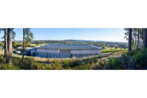 solar powered winery